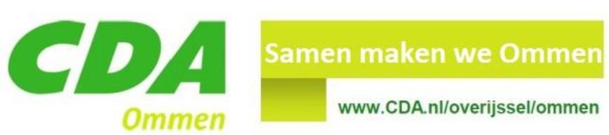 Logo CDA Ommen