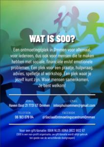 Sociaal Ontmoetingscentrum Poster 2